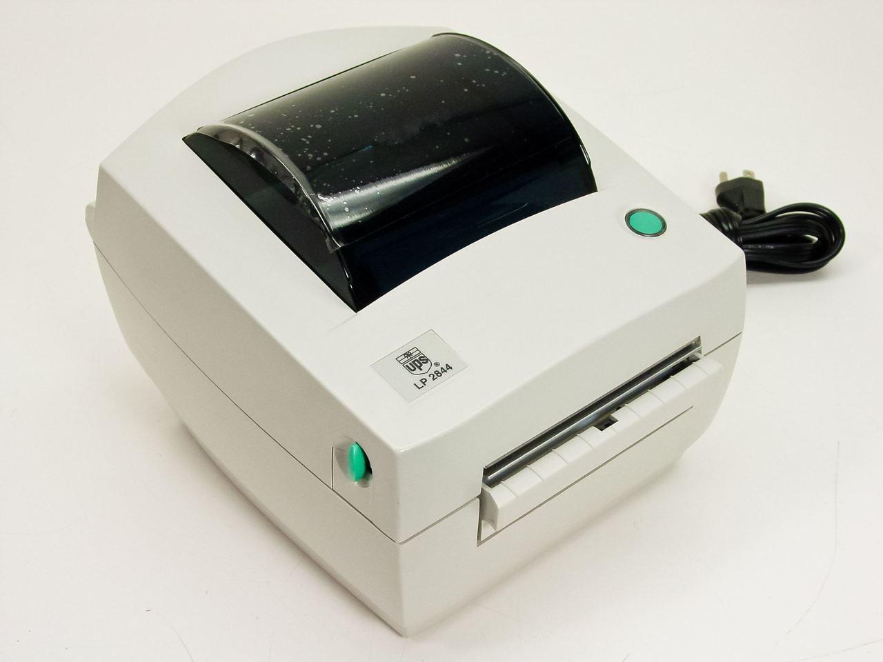 UPS LP 2844 Zebra Thermal Label Printer with USB