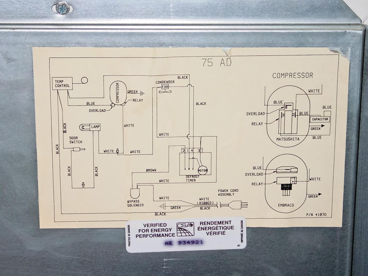 jewett refrigerator co. polarstar undercounter lab refrigerator ... jewett wiring diagram  recycled goods