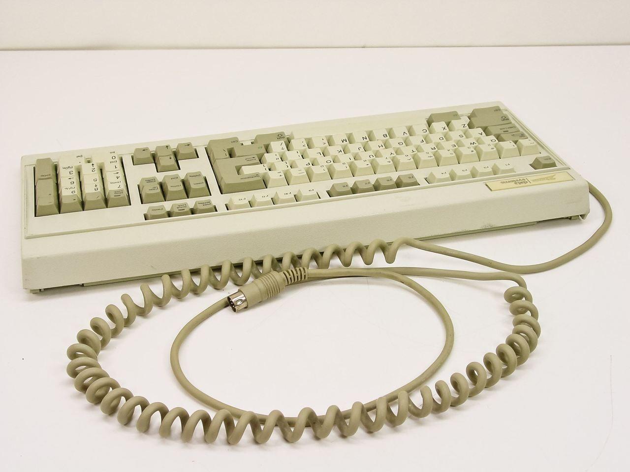 Zenith Data System ZKB-0001 Keyboard 102 Key - Part No  163-56