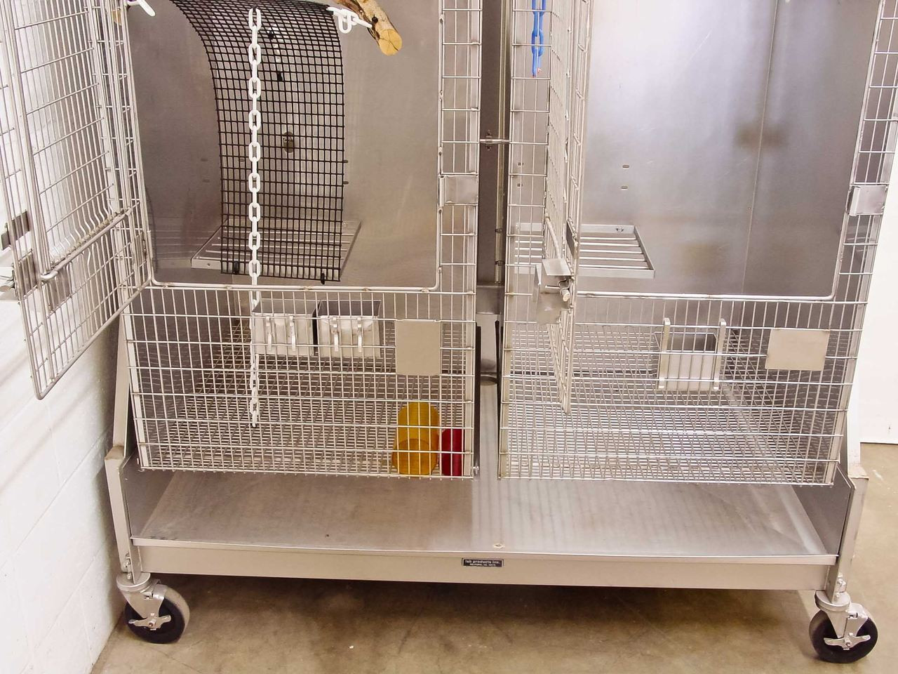 Lab Products inc  Stainless Steel Bird Cage
