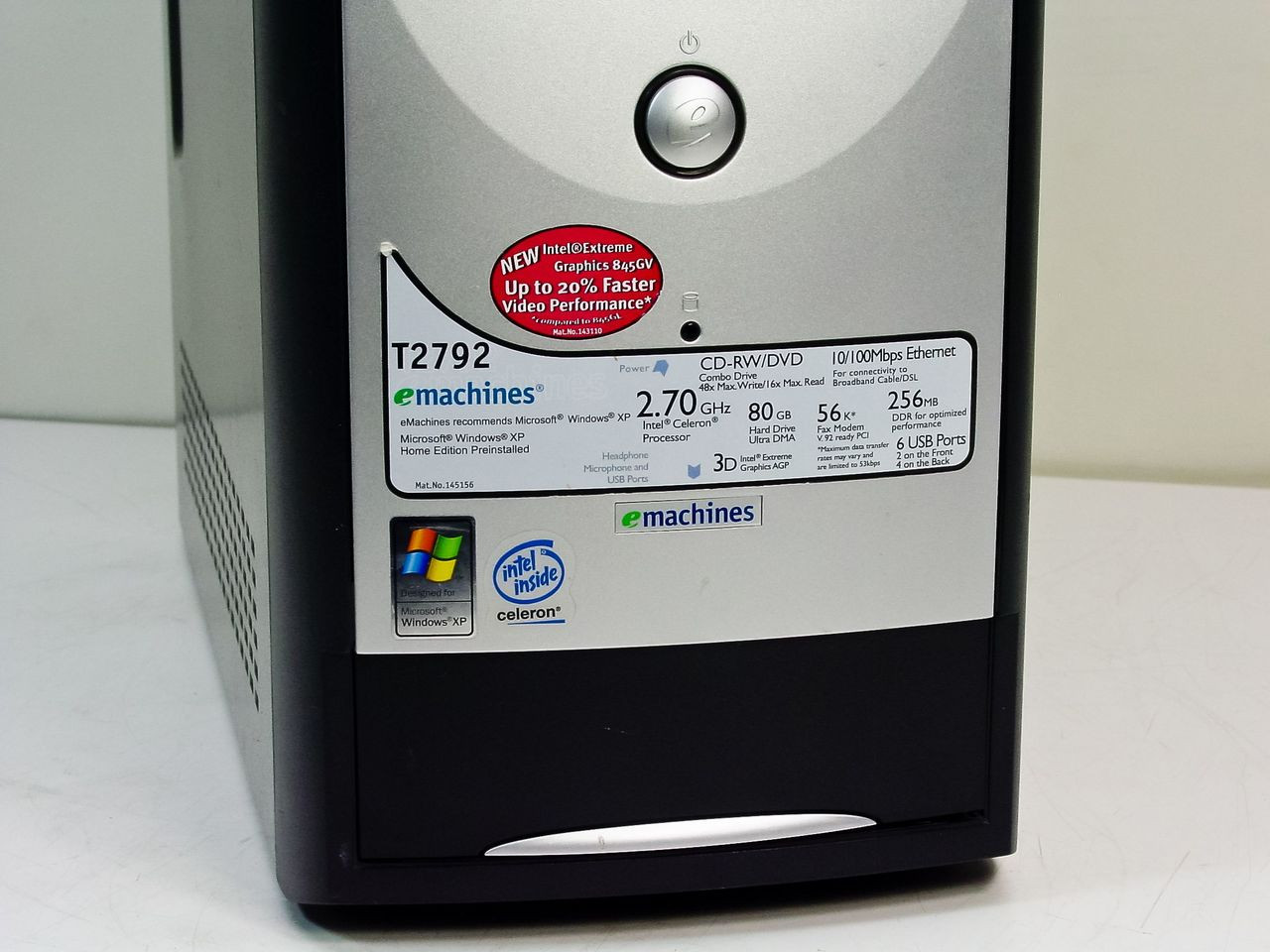 EMACHINES T2792 WINDOWS XP DRIVER DOWNLOAD