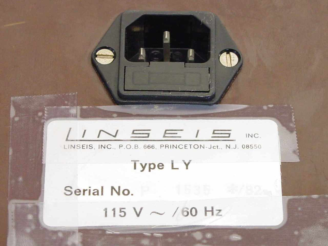 Linseis Ly1800 Xy Recorder