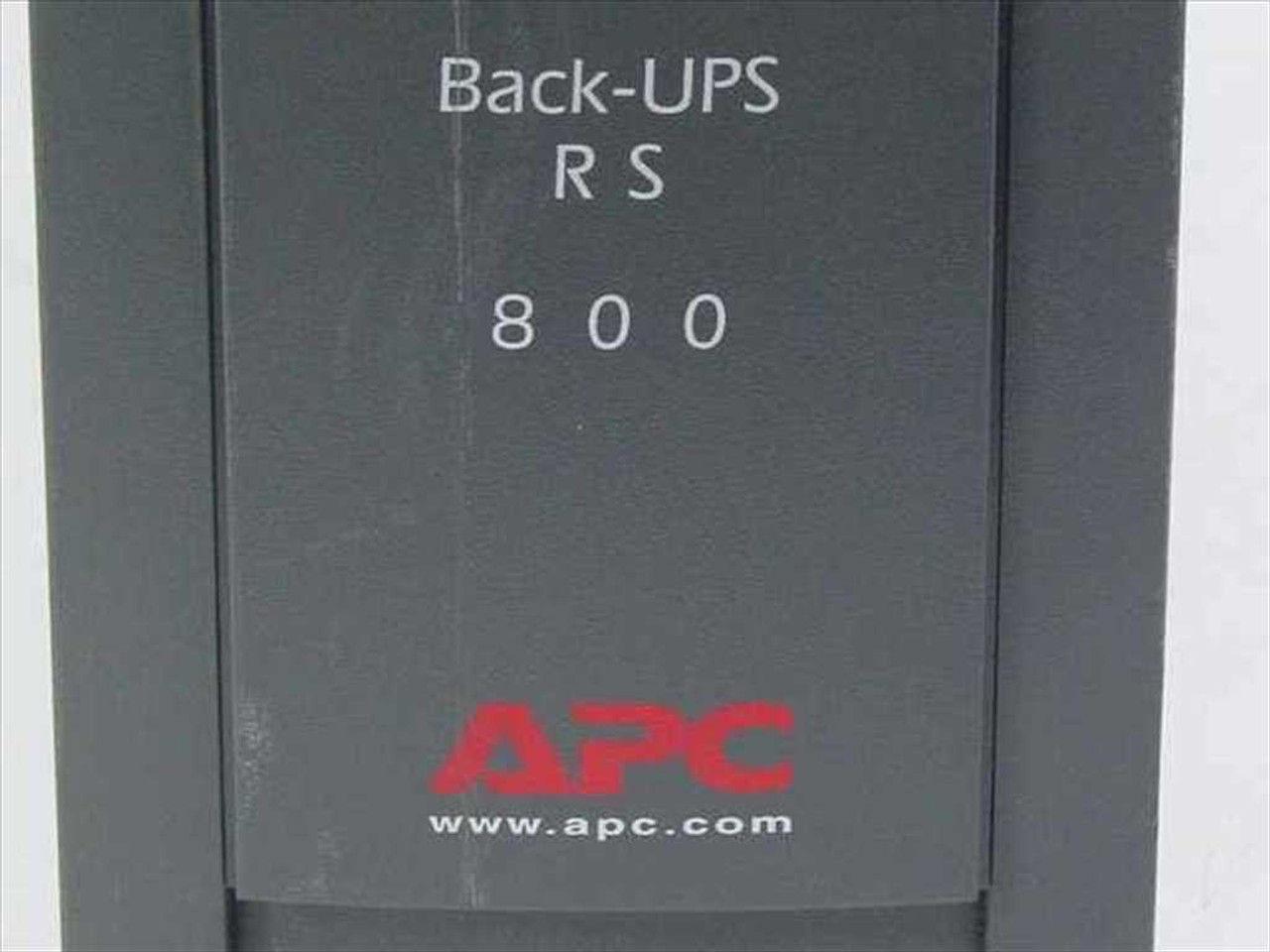 Apc Rs 800 Wont Turn On