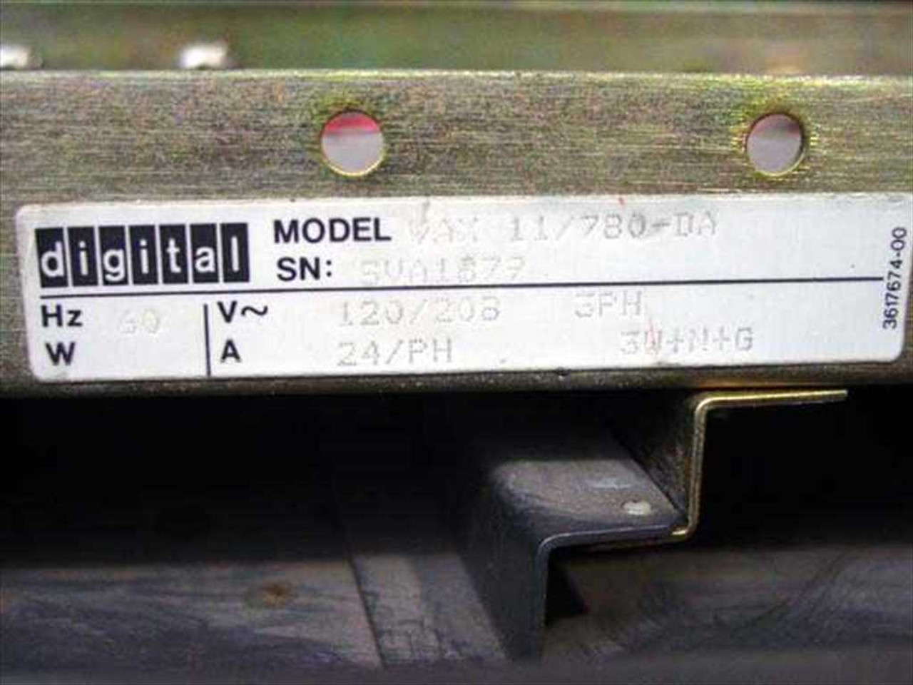 Digital 11/780 DEC VAX 11/780 Computer Vintage 1977 Mainframe