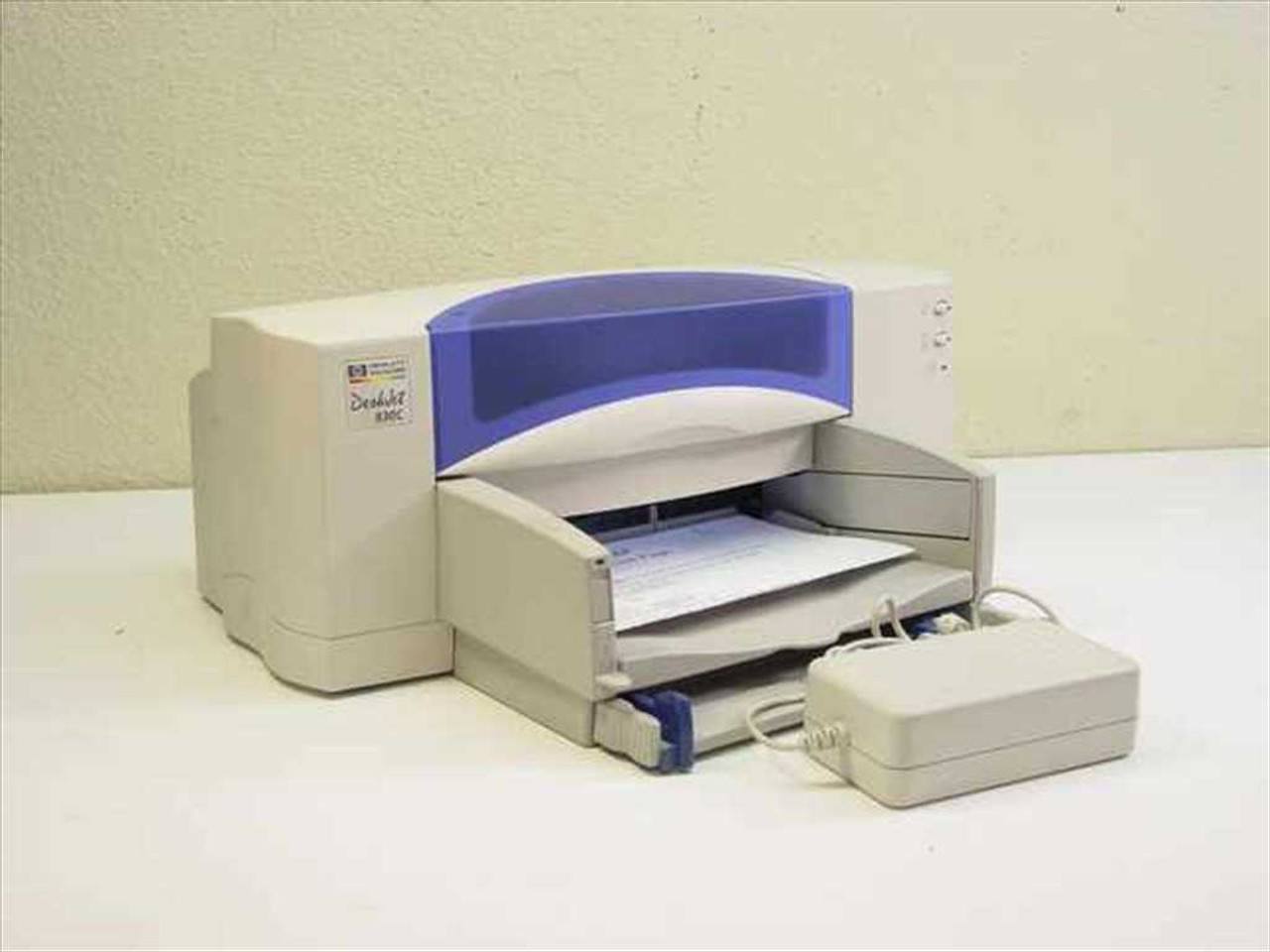 HEWLETT PACKARD HP DESKJET 830C DRIVERS WINDOWS XP