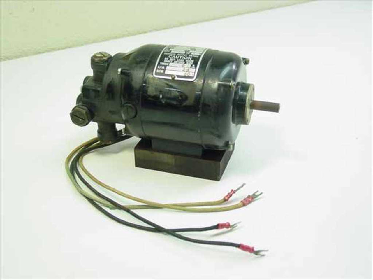 Bodine Electric company NSH-12R Motor on