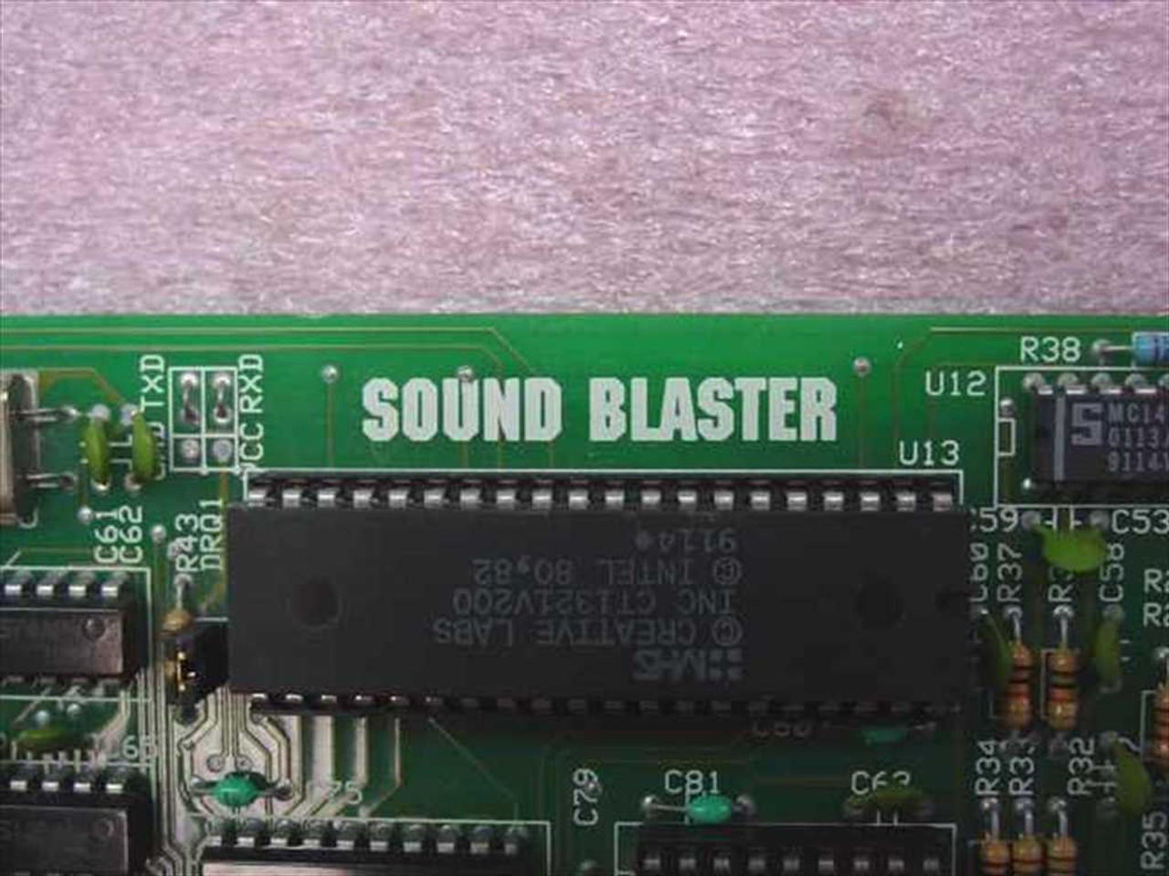 Creative Labs CT-1320C Sound Blaster 8 Bit ISA Sound Card