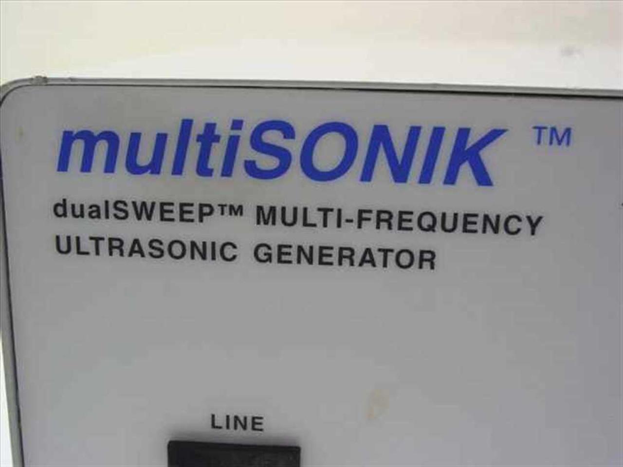 Blackstone-Ney Ultrasonics 40-72-104-MSG Multisonik DualSweep Ultrasonic  Generator