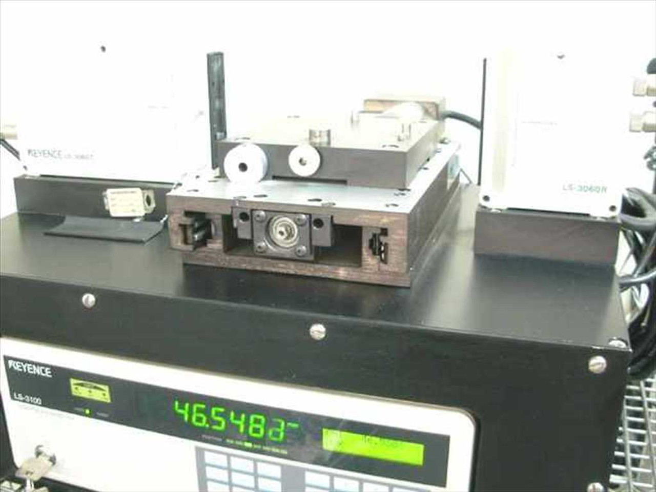 Keyence LS-3100 Laser Micrometer System with Aerotech Stage
