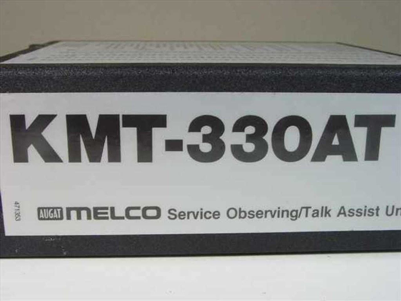 Augat Melco KMT-330AT Service Observing/Talk Assist Unit