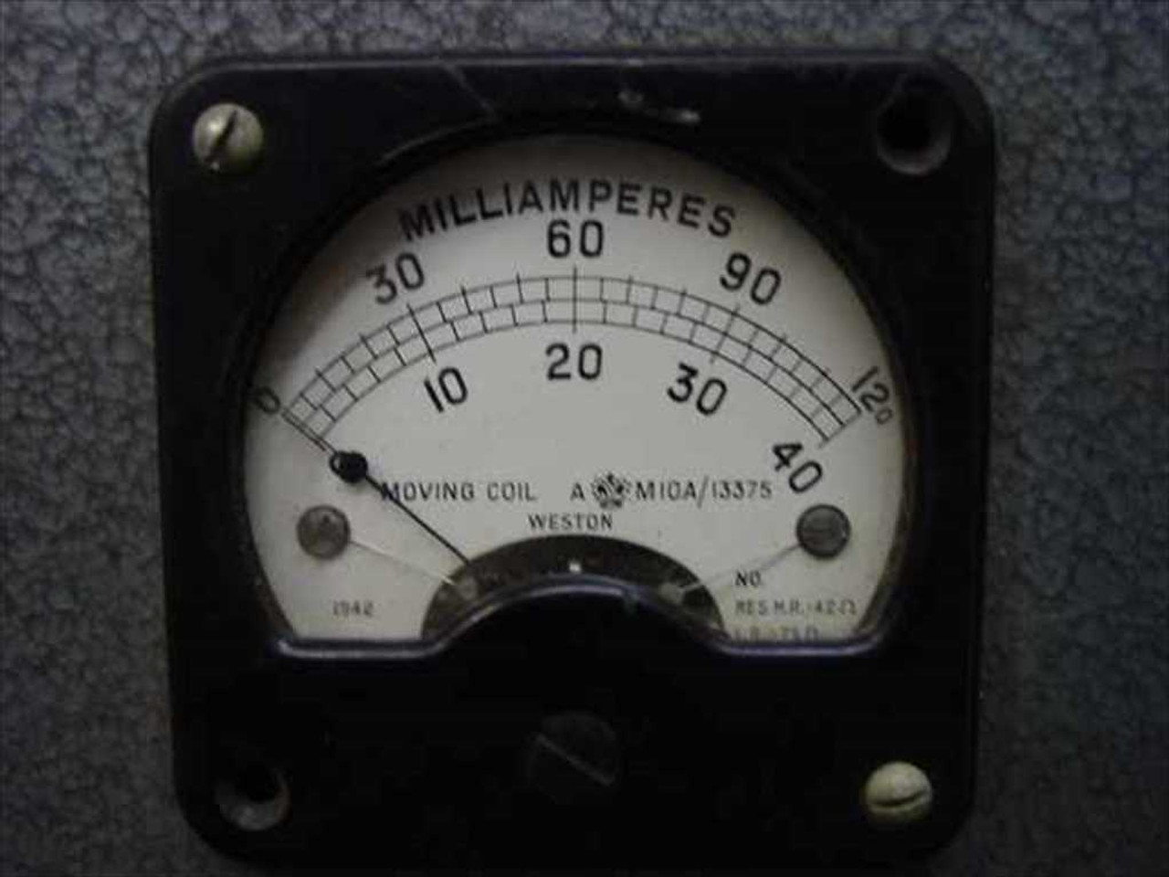 Vintage Rackmount Test Set Rotary Timing Oscilloscope Frequency Generator  Milliamp Meter