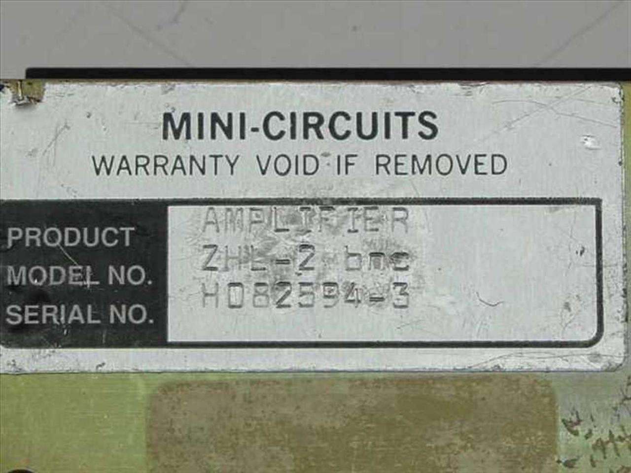 Mini-Circuits ZHL-2 bnc Amplifier