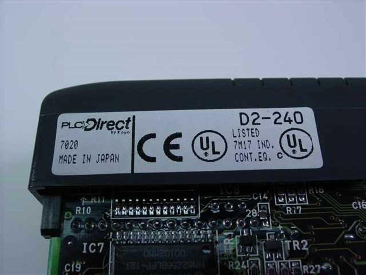 Koyo D2-240 Direct Logic 205 Module - New in Box