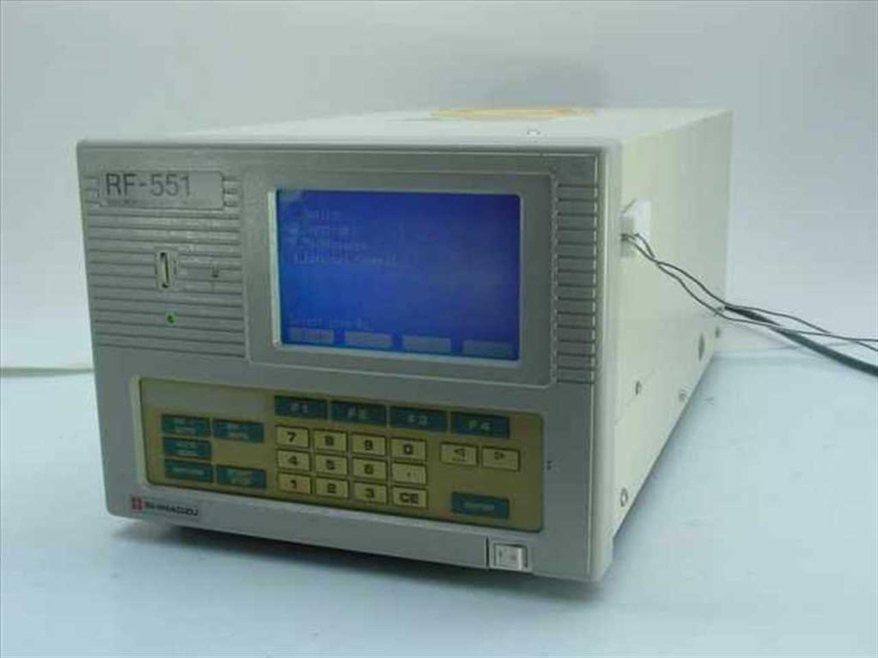 Shimadzu RF-551 Fluoresence HPLC Spectrofluorometeric Detector