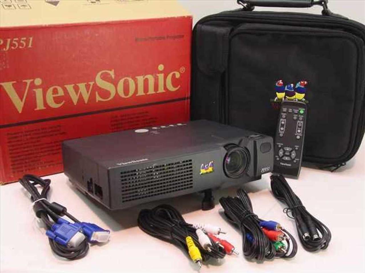 Viewsonic PJ551 LCD Projector 1024 x 768 High Resolution