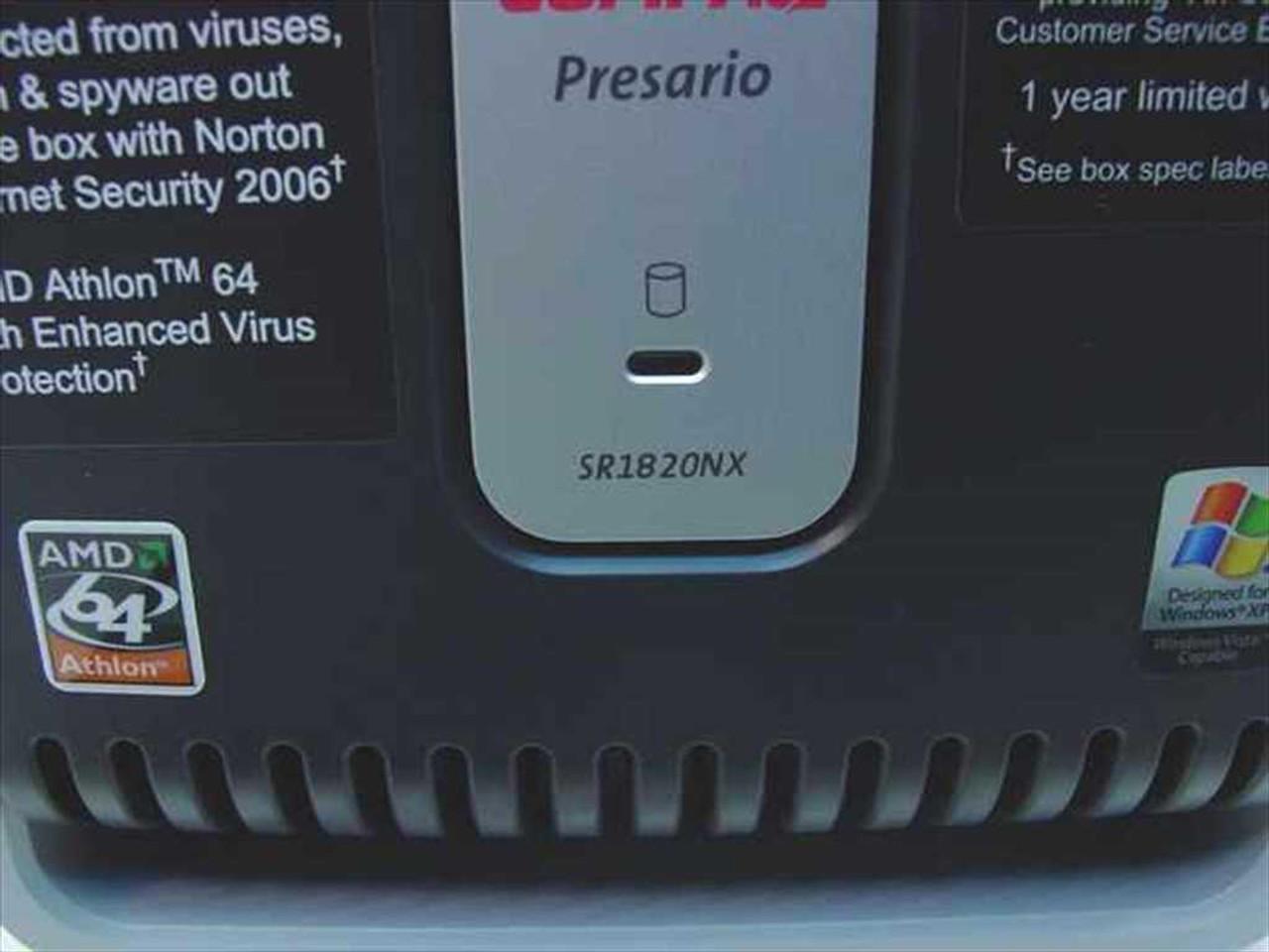 COMPAQ PRESARIO SR1820NX AUDIO DRIVER PC