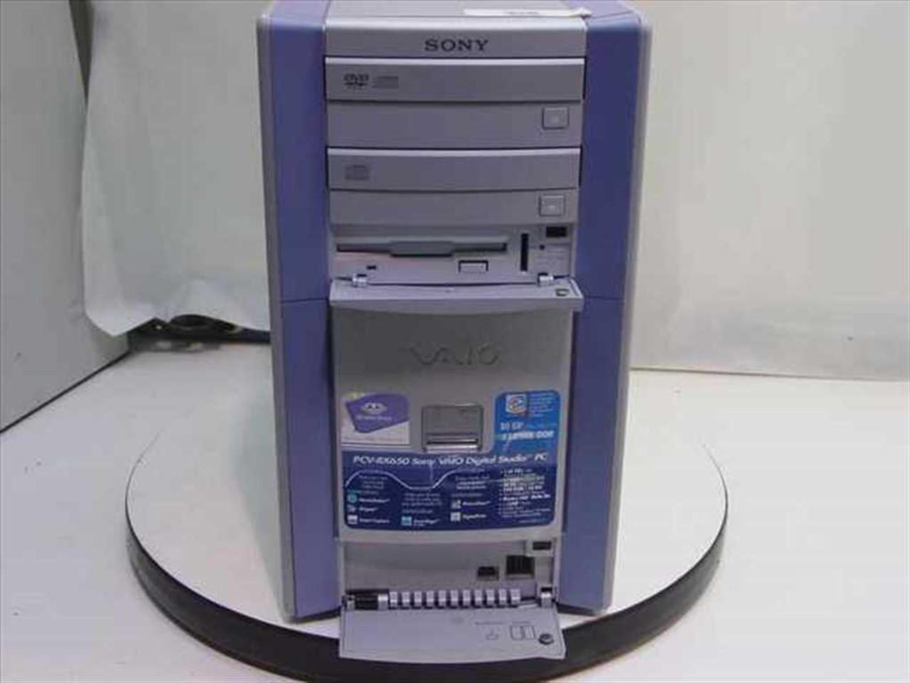 SONY VAIO PCV-RX650 DRIVER FOR WINDOWS MAC