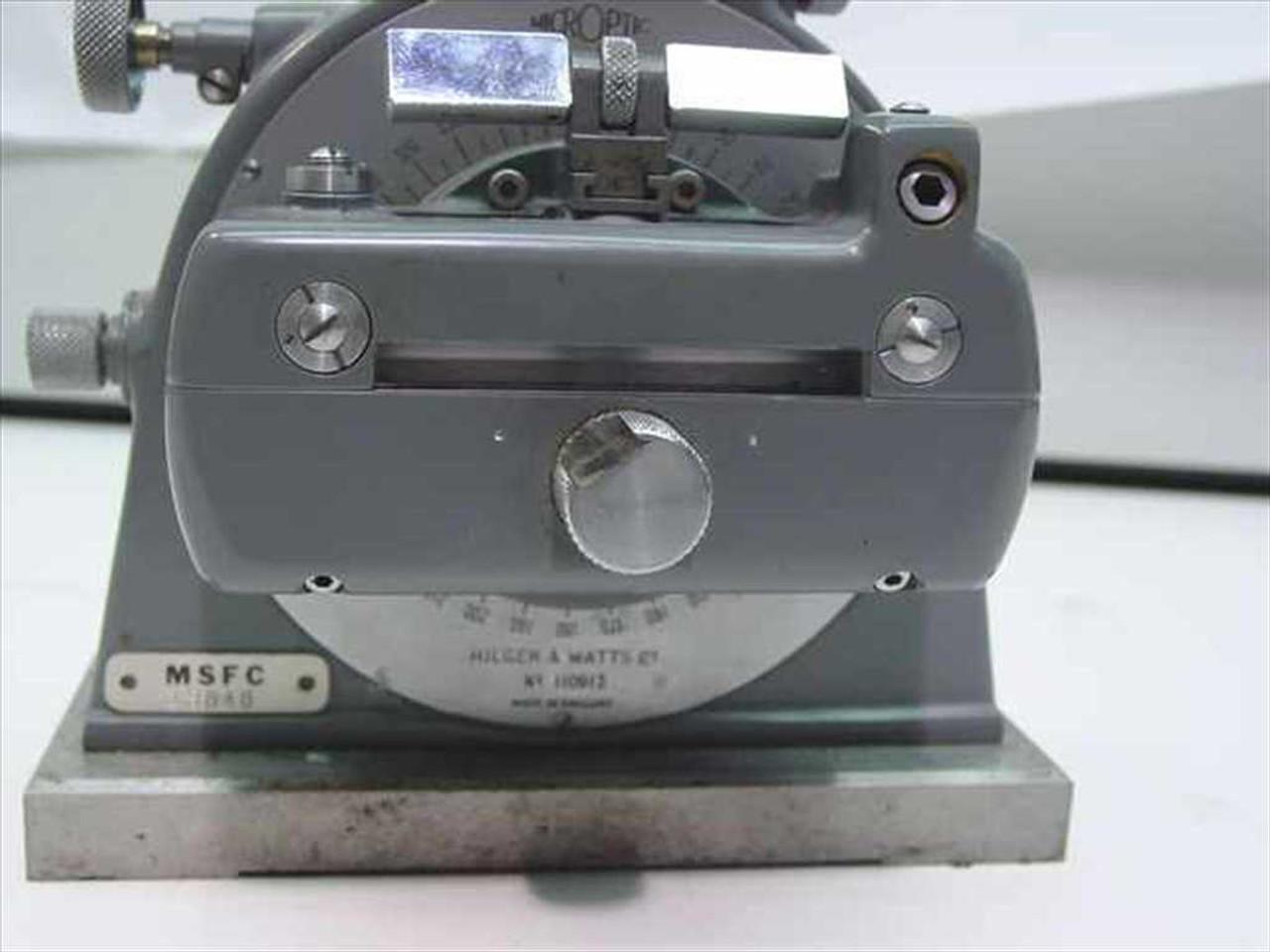 Hilger & Watts TB 95 Microptic Clinometer
