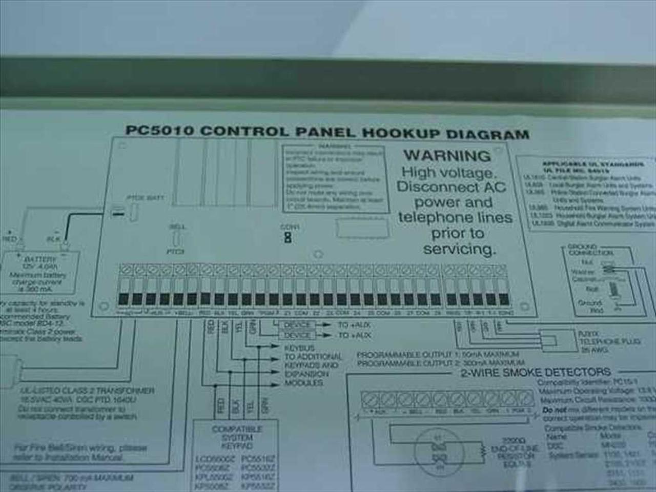 Dsc 5010 Wiring Diagram - Wiring Diagrams Schema