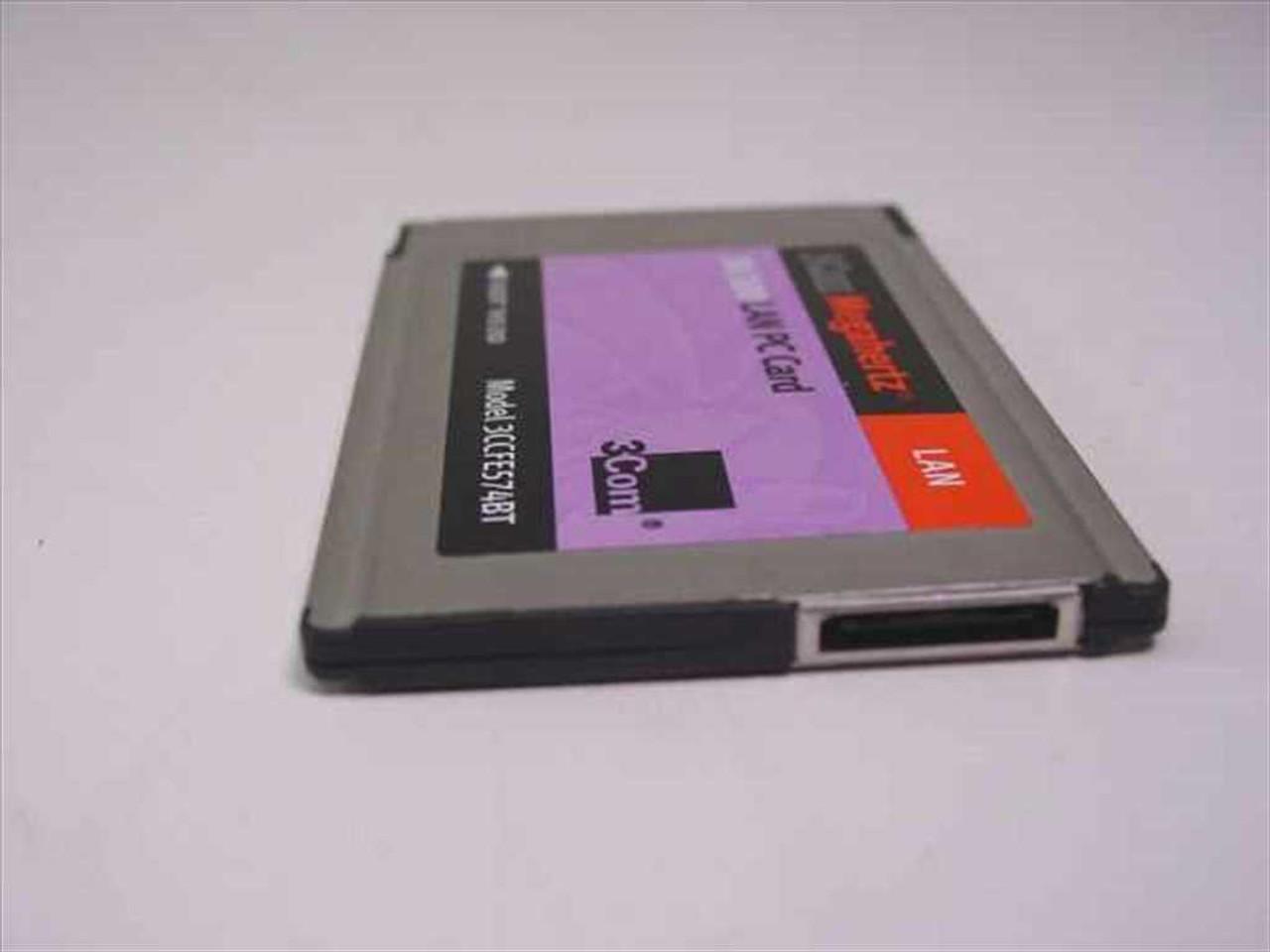 3Com 3CCFE574BT 3Com Megahertz 10/100 LAN PC Card Driver