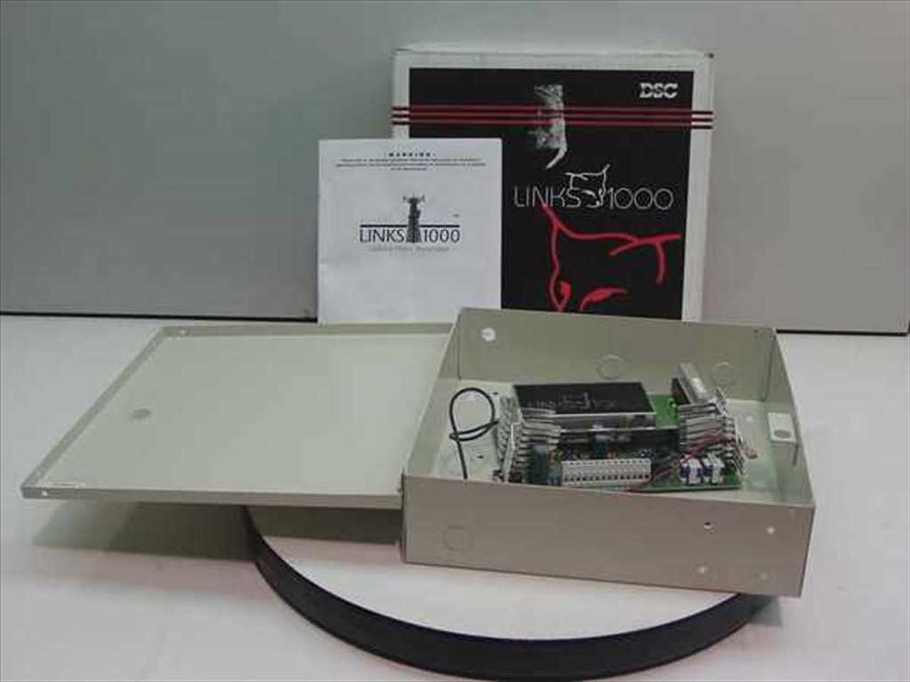 DSC Cellular Alarm Transmitter SG Communications Links1000