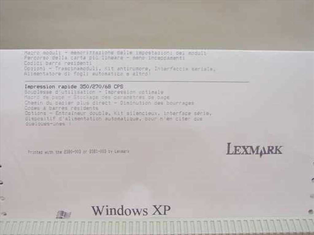 Lexmark 2380-003 Dot Matrix Forms Printer - 2380 Plus