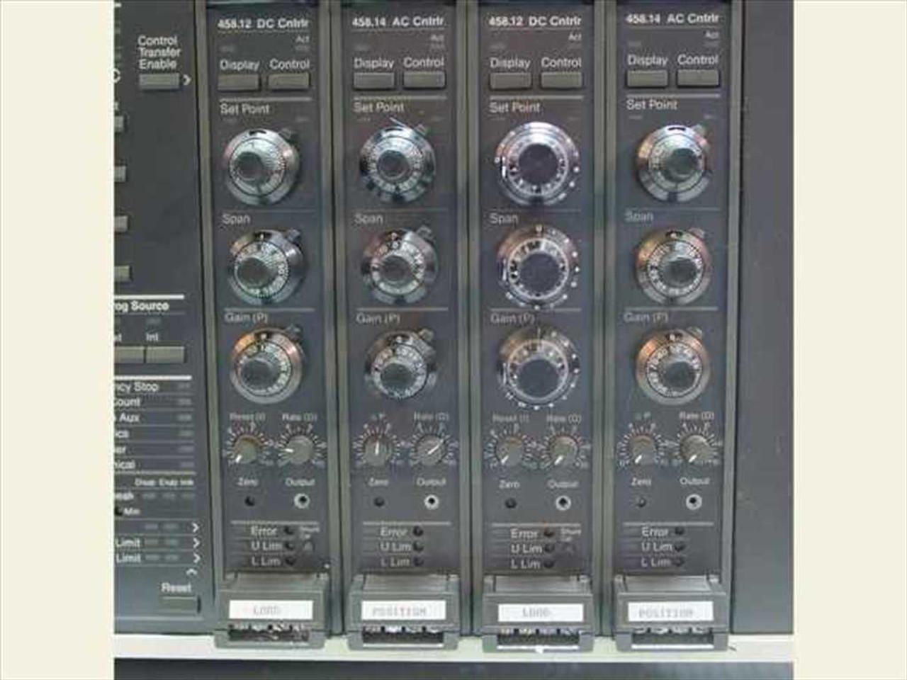 Mts 458 Controller Manual