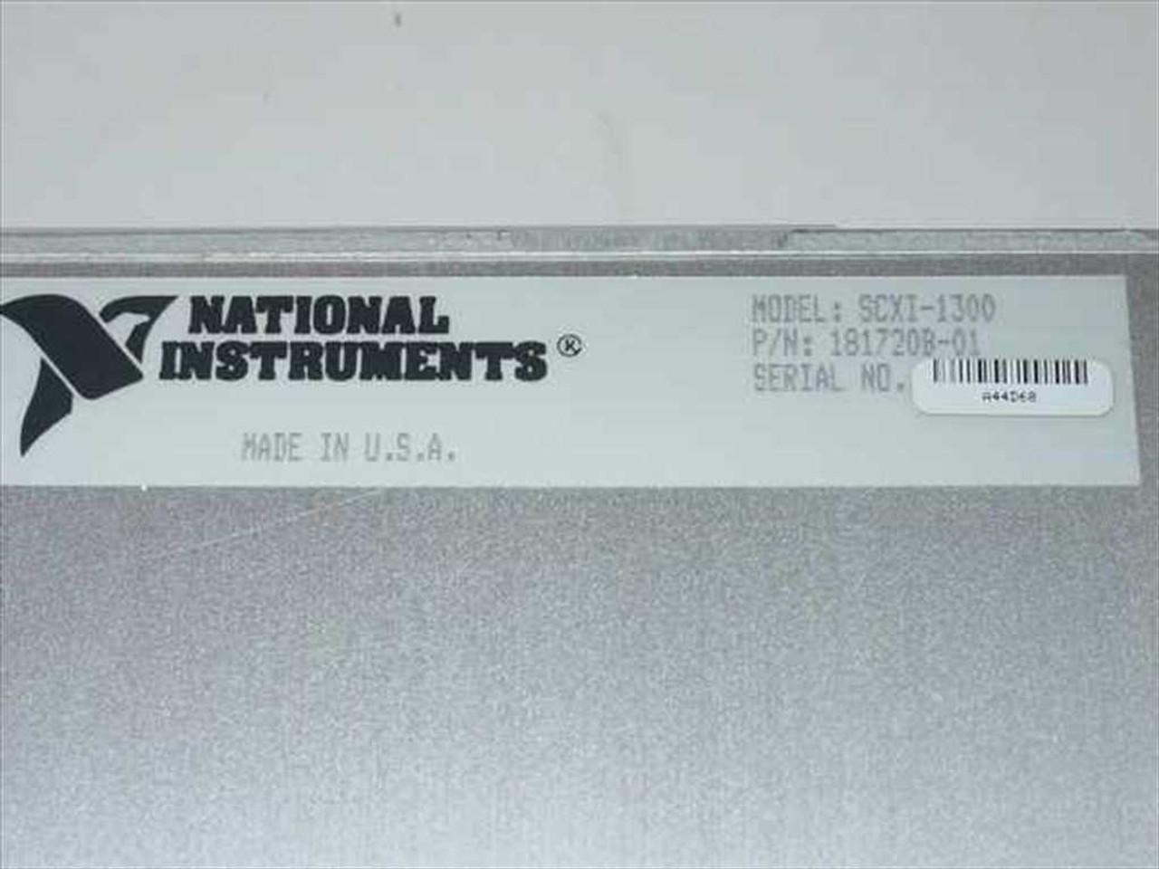 National Instruments SCXI-1300 National Instruments Voltage Module Plug-in
