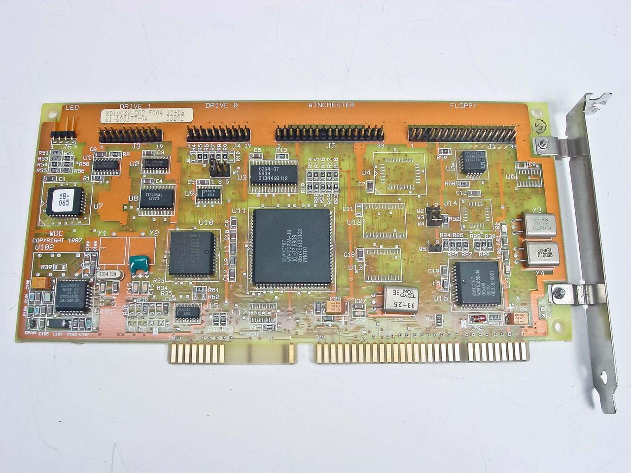 Western Digital 61-600132-04 16 bit MFM Controller WD1003V-SR2