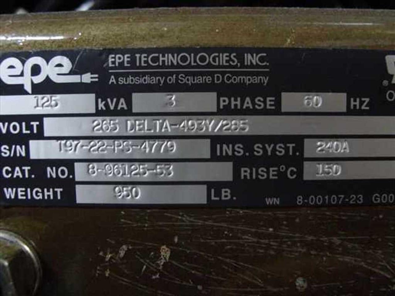 MGE EPS-2101/44 66 MGE EPS 2000 125KVA Uninteruptable Power System UP