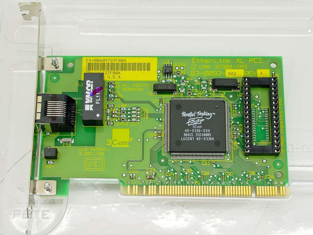 3COM ETHERLINK PCI TPO NIC 3C900-TPO DRIVERS DOWNLOAD (2019)