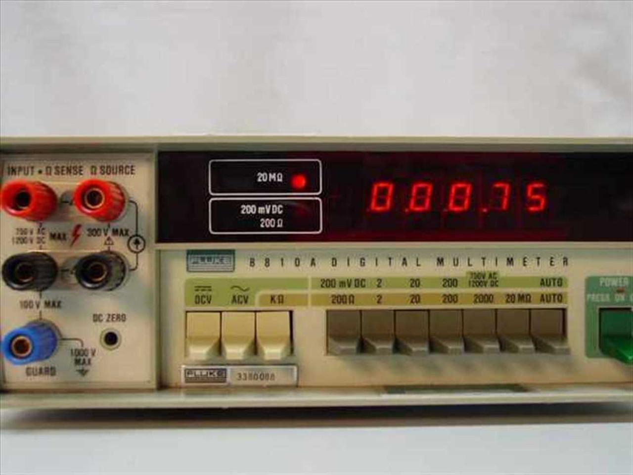 Fluke 8810A Digital Multimeter