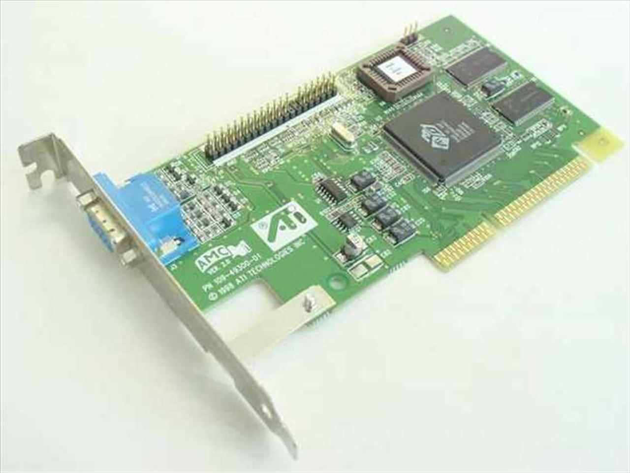 ATI Technologies AGP Video Card Rage IIC 4MB 109-49300-00