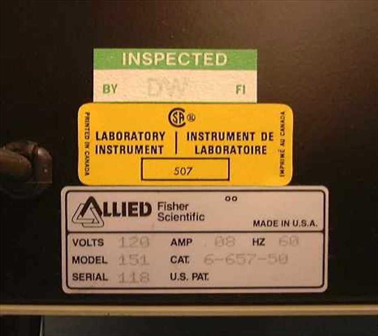 Fisher Scientific 151 Laboratory Timer