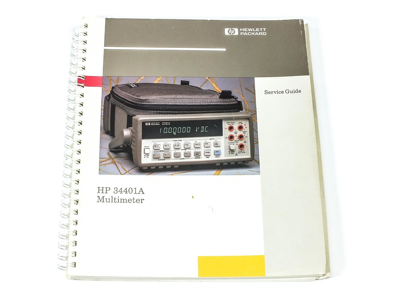 HP 34401A MULTIMETER SERVICE GUIDE