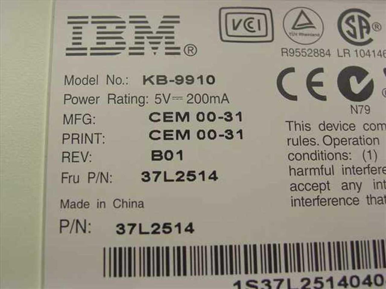 ibm-keyboard-fru-37l2514-or-02k0848-kb-9