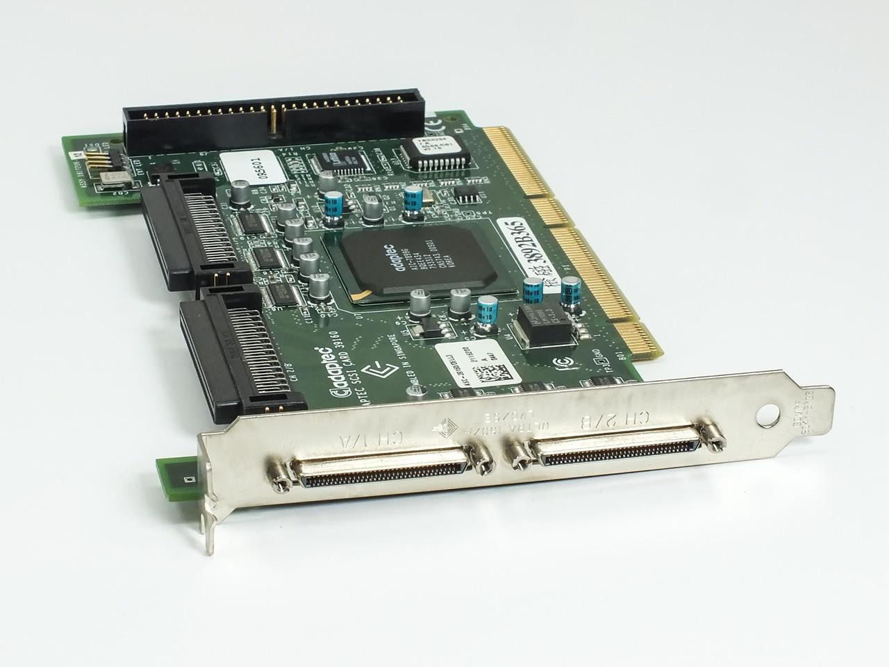 DRIVER: ADAPTEC SCSI CARD 39160 ULTRA160