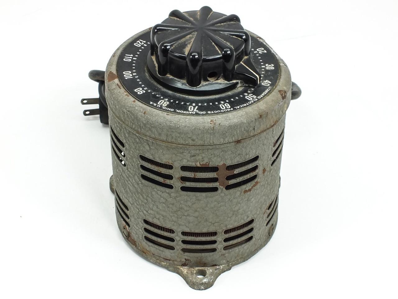 STACO 500B Adjust-A-Volt 140VAC 7 5A Power Supply
