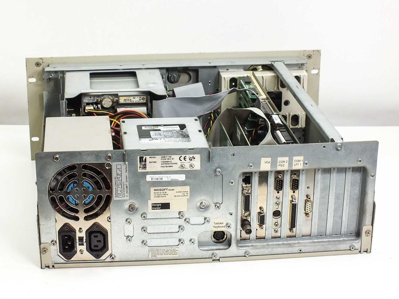 Texas Micro 4508-P-RM 21233 REV D P166MHz, 2 1GB HDD, 32MB RAM