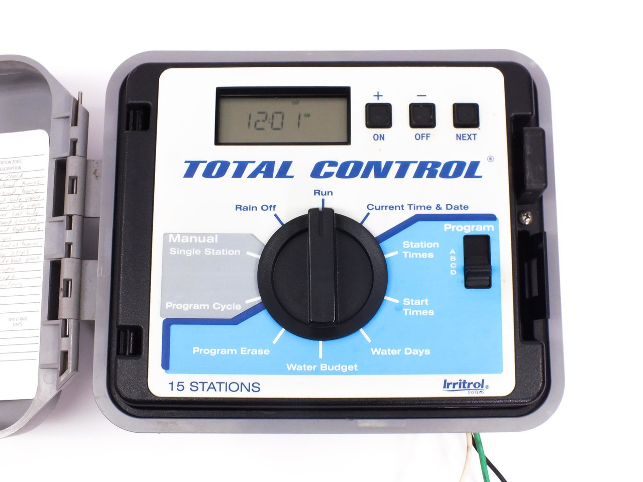 JH Hardie Total Control Irritrol 15-Station Controller for Water