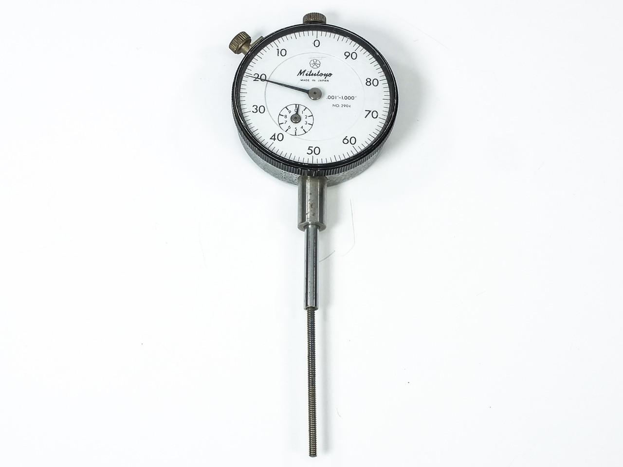 Mitutoyo 2904 Dial Indicator 0 001