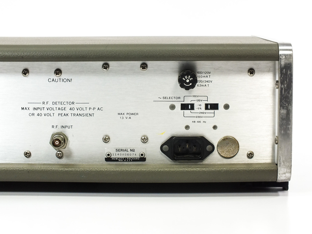 HP 334A Distortion Analyzer 5Hz to 600kHz Frequency