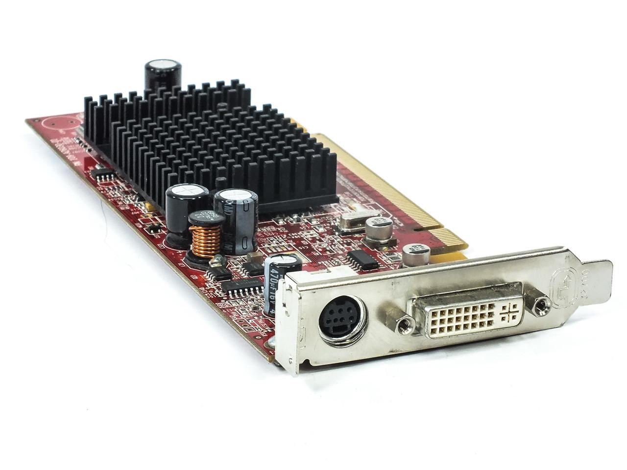 ATI Radeon Genuine X600 Computer Graphics Video Card Low Profile 256MB 102A6290800 0G9184