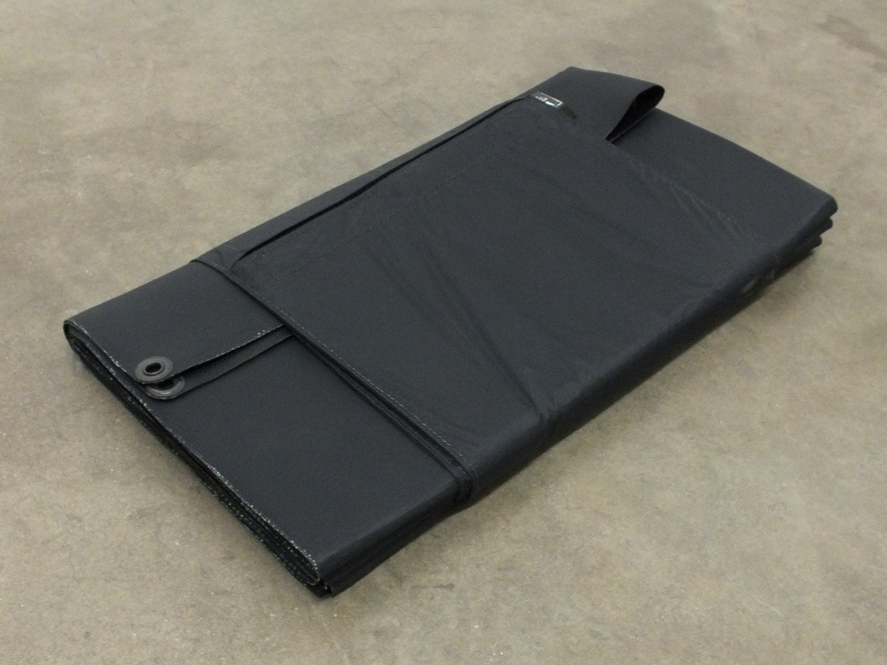 Global Solar 42 Watt Powerflex 24V Foldable CIGS Solar Panel w//ETFE Black
