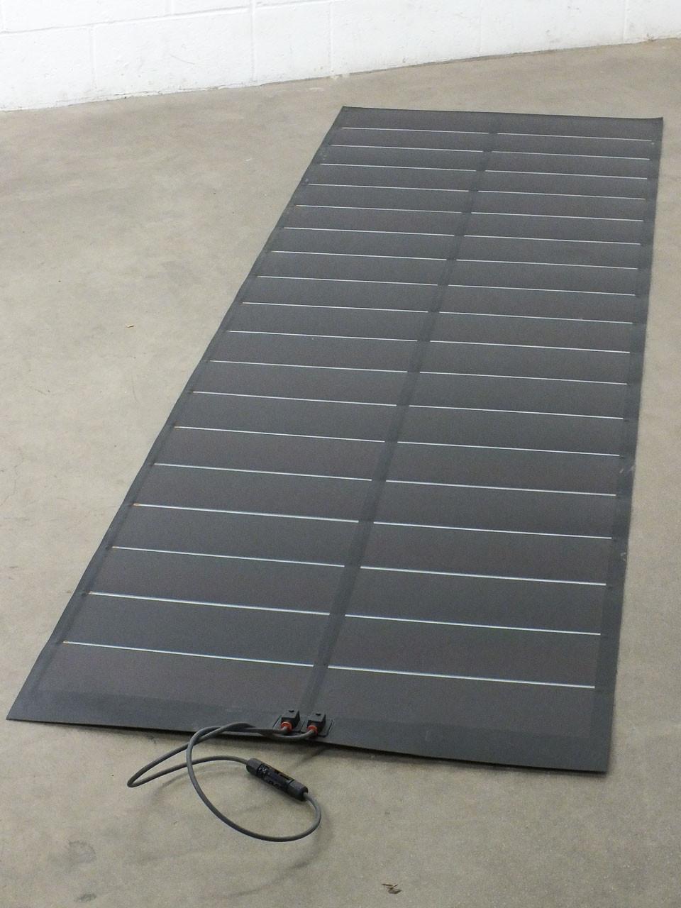 Xunlight XUS19-134 134 WATT Rollable Camping RV Solar Panel NO Sticky Backing