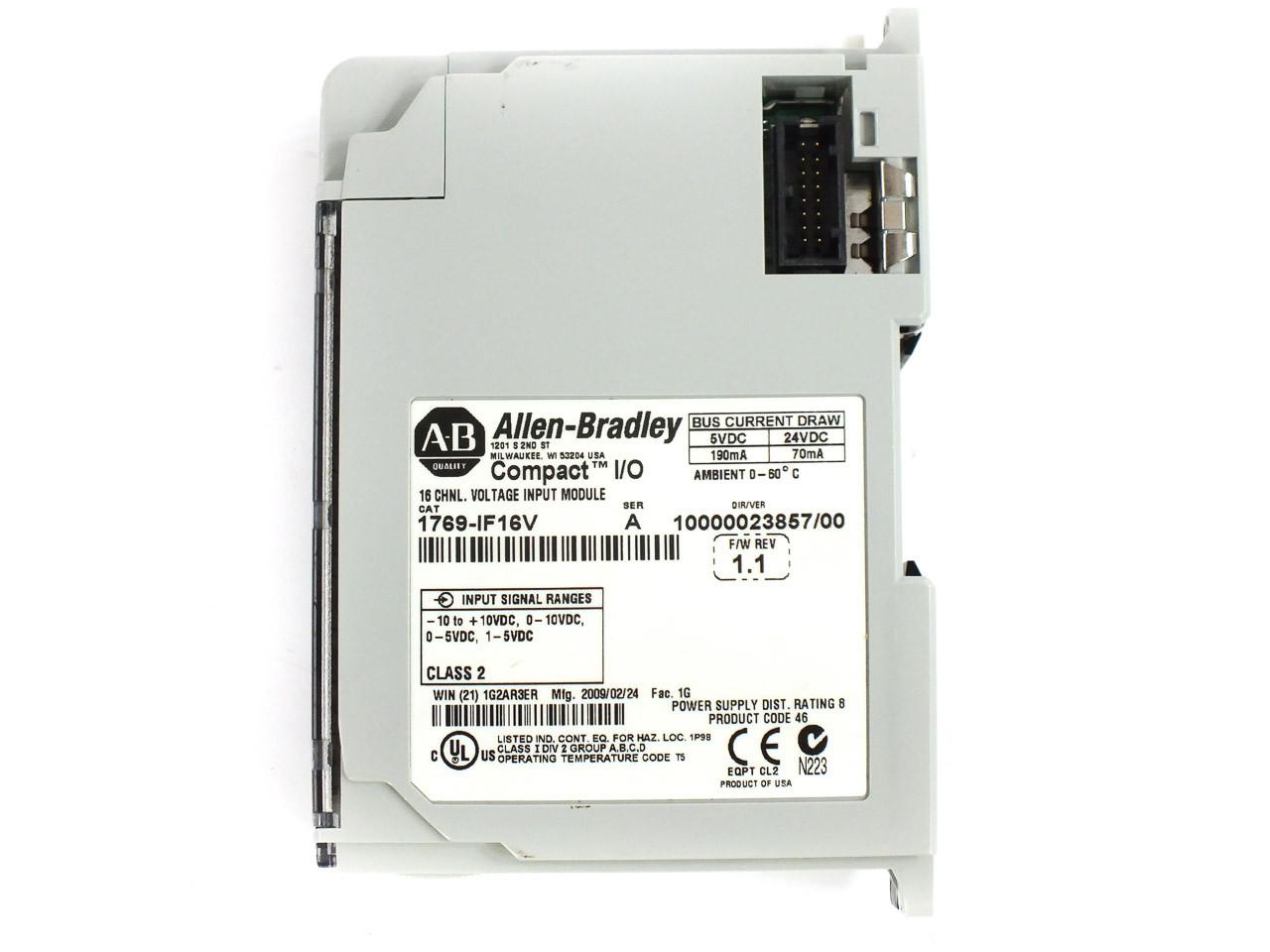 Allen - Bradley 1769-IF16V AB 16 Channel Voltage Input Module