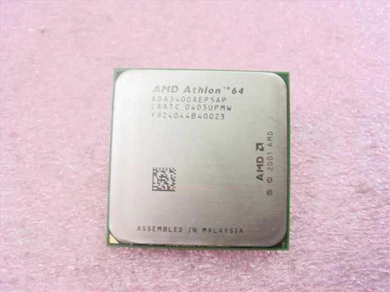 Amd Ada3400aep5ap Athlon 64 Processor 3400 2 2ghz 2000 1024 1 5v Recycledgoods Com