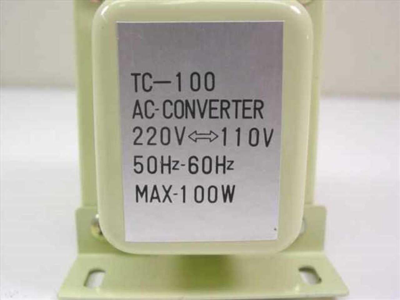 Shin-Star AC Converter 220V-110V 50/60Hz 100W (TC-100)