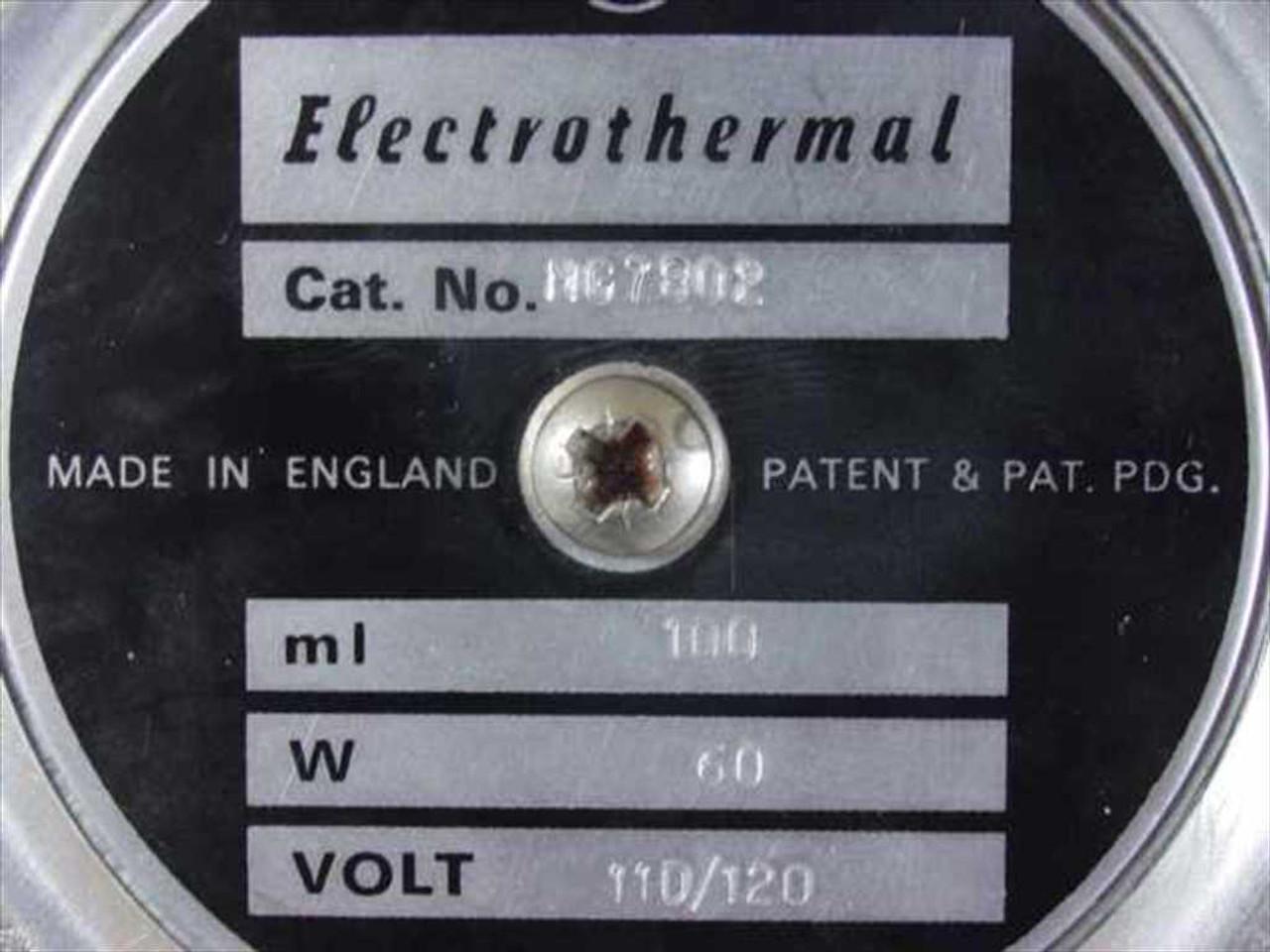 MG MG7802 100 ML Electrothermal Heating Mantle 110/120V 60W