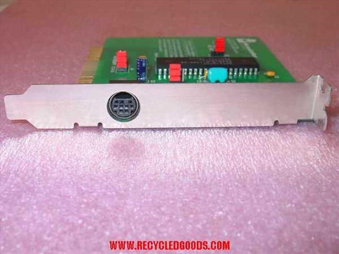 Microsoft InPort Mouse Device Interface Card 8-bit ISA//XT 900-255-018 Rev P